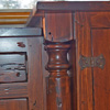 TV Cabinet-distressed Detail